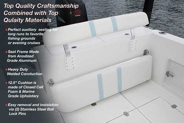 folding chairs for boats desk chair booster cushion marine seats back rest birdsall design