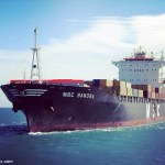 OIL SPILL on MSC Container Ship