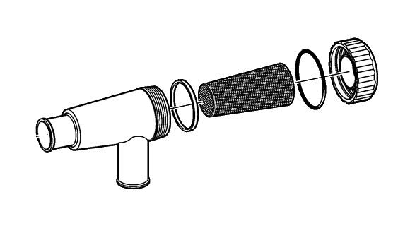 Sjövattenfilter D3-130, D3-160, D3-190