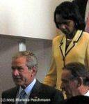 President Bush and Secretary of State Condoleezza Rice