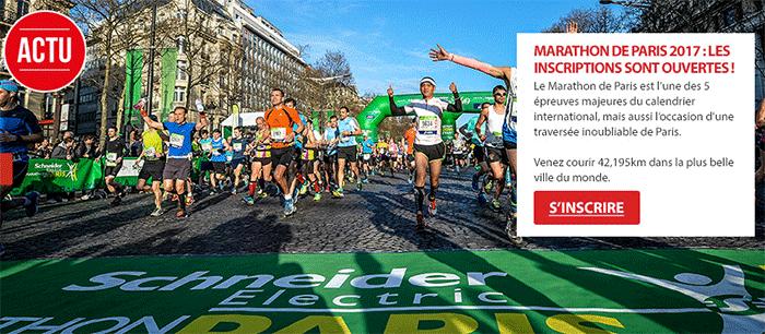 Marathon de Paris - Inscription Il était une maille