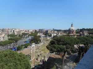 Vue sur le Colisee - ROME