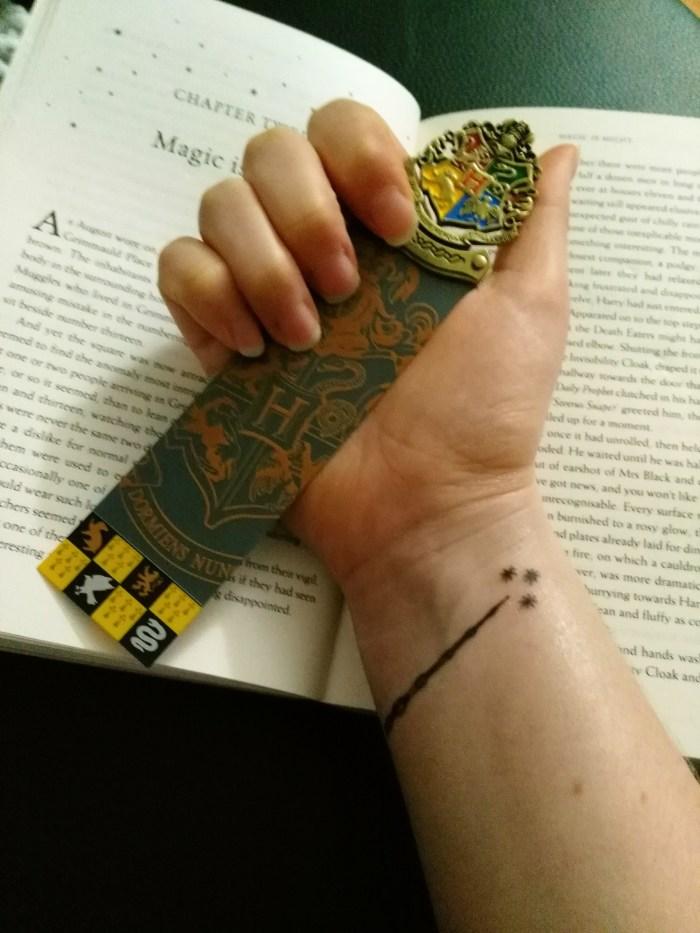 Tatouage Harry Potter
