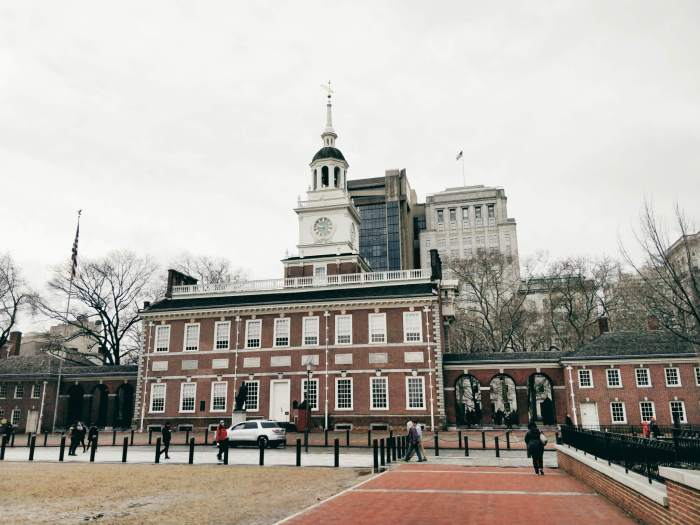 Independence Hall à Philadelphie, photo par Marinoushka