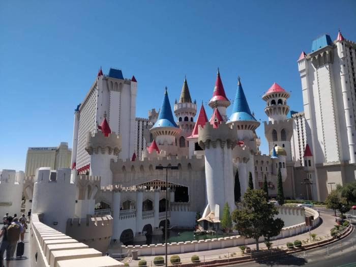 Le château d'Excalibur
