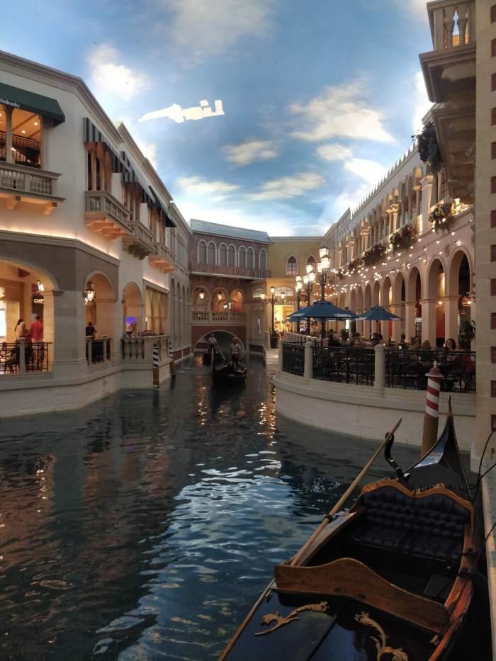 Gondoles du Venetian à Las Vegas