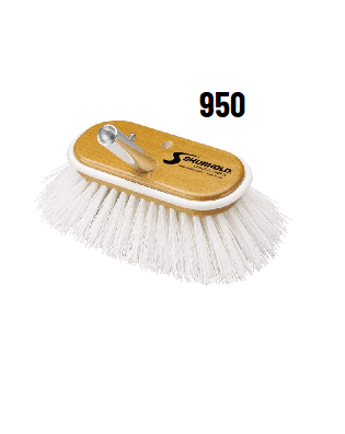 Shurhold 6 Deck Brushes