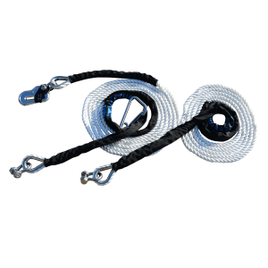 Mantus Catamaran Mooring Bridle (No Hook with Carabiner & Shackle)