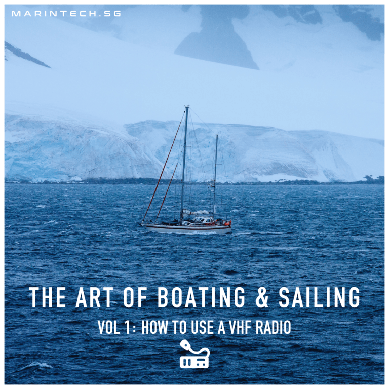 Read more about the article The Art of Boating & Sailing – How to use a VHF Radio