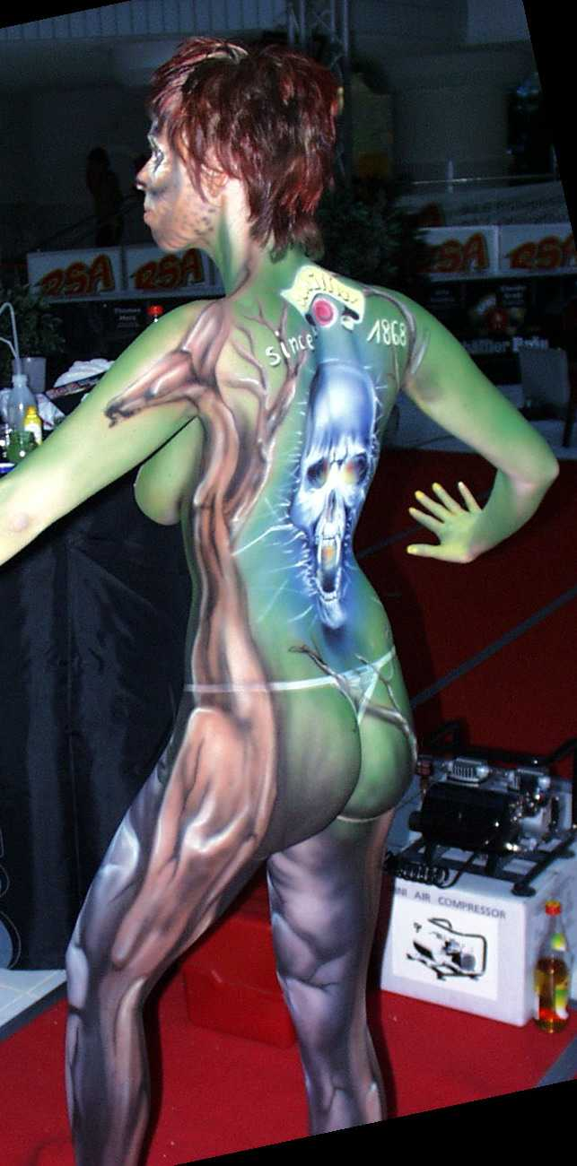 Body Painting Festival In Germany for Pinterest