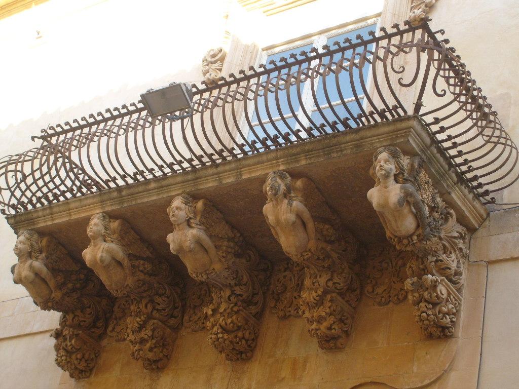 Noto balcone