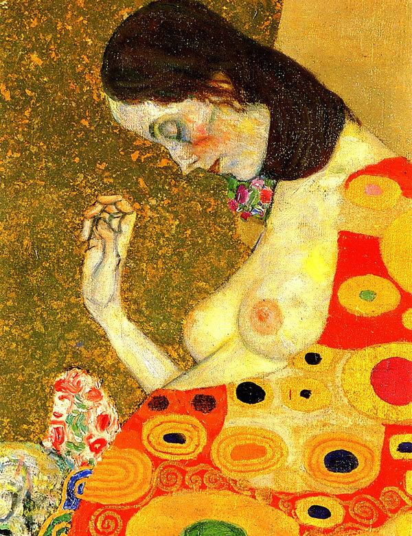 La speranza II-Klimt-particolare