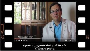 Agresion, agresividad y violencia 3. Mario Elkin Ramírez