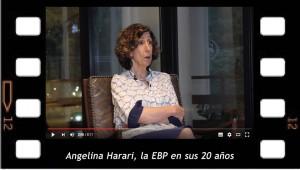 Angelina Harari, festeja los 20 años de la EBP