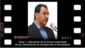 Clase 1 ( 2da parte) lectura comentada de las Conferencias de Introducción al psicoanálisis