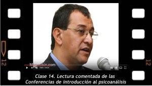 Clase 14. Lectura comentada de las conferencias de introducción al psicoanálisis.