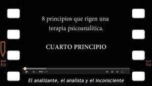 Cuarto principio del acto analítico. La exclusión de todo tercero que controle la experiencia
