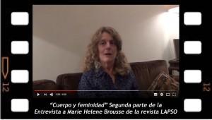 Cuerpo y feminidad entrevista a Marie Helene Brousse