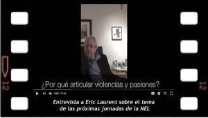 Entrevista a Eric Laurent sobre Violencias y Pasiones