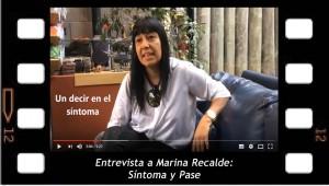 Entrevista a Marina Recalde Síntoma y Pase
