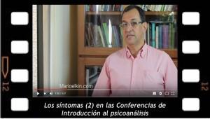 Los síntomas 2, en las Conferencias de Introducción al psicoanálisis