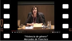 """Violencia de género"", Mercedes de Francisco"