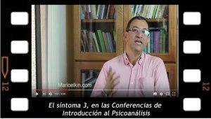 Los síntomas 3, en las Conferencias de Introducción al Psicoanálisis