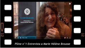PSIne n°1 Entrevista a Marie Hélène Brousse