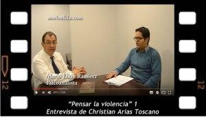 """""""Pensar la violencia"""" 1. Entrevista a Mario Elkin Ramirez de Christian Arias"""