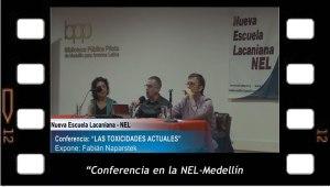 Las toxicidades actuales. Conferencia de Fabian Naparstek en la NEL-Medellín