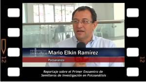 El psicoanálisis como método terapéutico (Primera parte). Entrevista para la televisión de Tele San Gil
