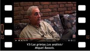 V3. Las grietas.Los análisis. Miquel Bassols