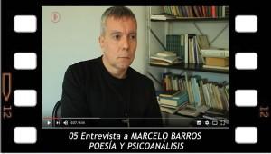 POESÍA Y PSICOANÁLISIS Entrevista a Marcelo Barros