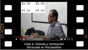 Clase 6. Síntoma y nominación. Mario Elkin Ramírez