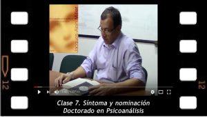 Clase 7. Síntoma y nominación. Mario Elkin Ramírez