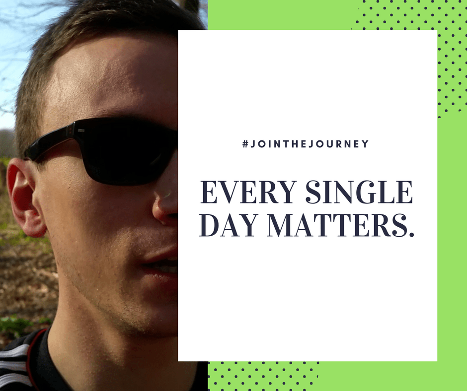Every single day matters - haters don't