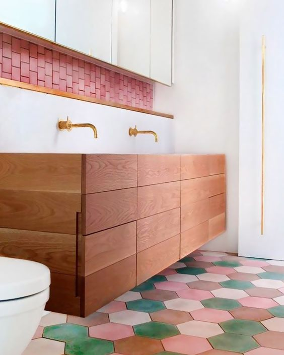 sol salle de bain quel materiaux