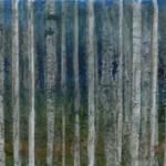 Birch Trees painting by Isle of Skye Artist