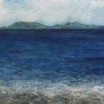 Painting seascape Isle of Skye artist Marion Boddy-Evans