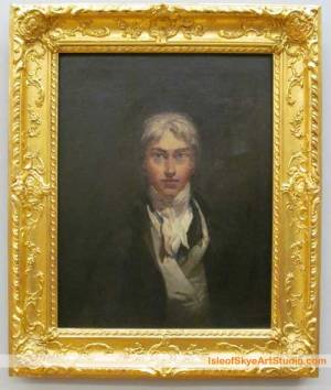 Self-Portrait c.1799 by  Joseph Mallord William Turner. In Tate Britain.