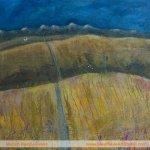 Edges: Road Less TravelledPainting by Skye artist Marion Boddy-Evans