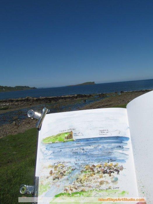 Skye  Sketching: Staffin