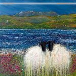 Commissioned Isle of Skye sheep painting
