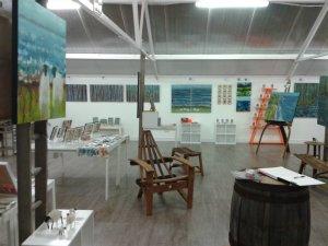 Flow art exhibition Skyeworks Gallery