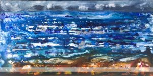 Dark & Stormy Day on Skye painting by Marion Boddy-Evans