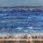 Ebb & Flow sea painting by Skye Scotland artist Marion Boddy-Evans