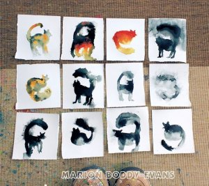 Small Studio Cats on Paper