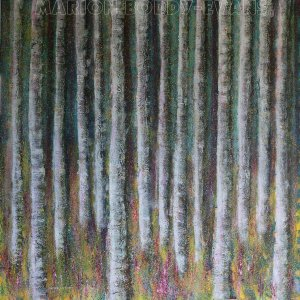 Echoes of an Ancient Forest painting by Marion Boddy-Evans