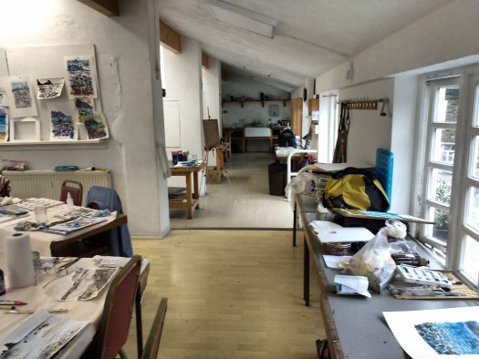 Higham Hall Art Studio May 2017