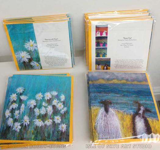New Art Cards 2017 Marion Boddy-Evans